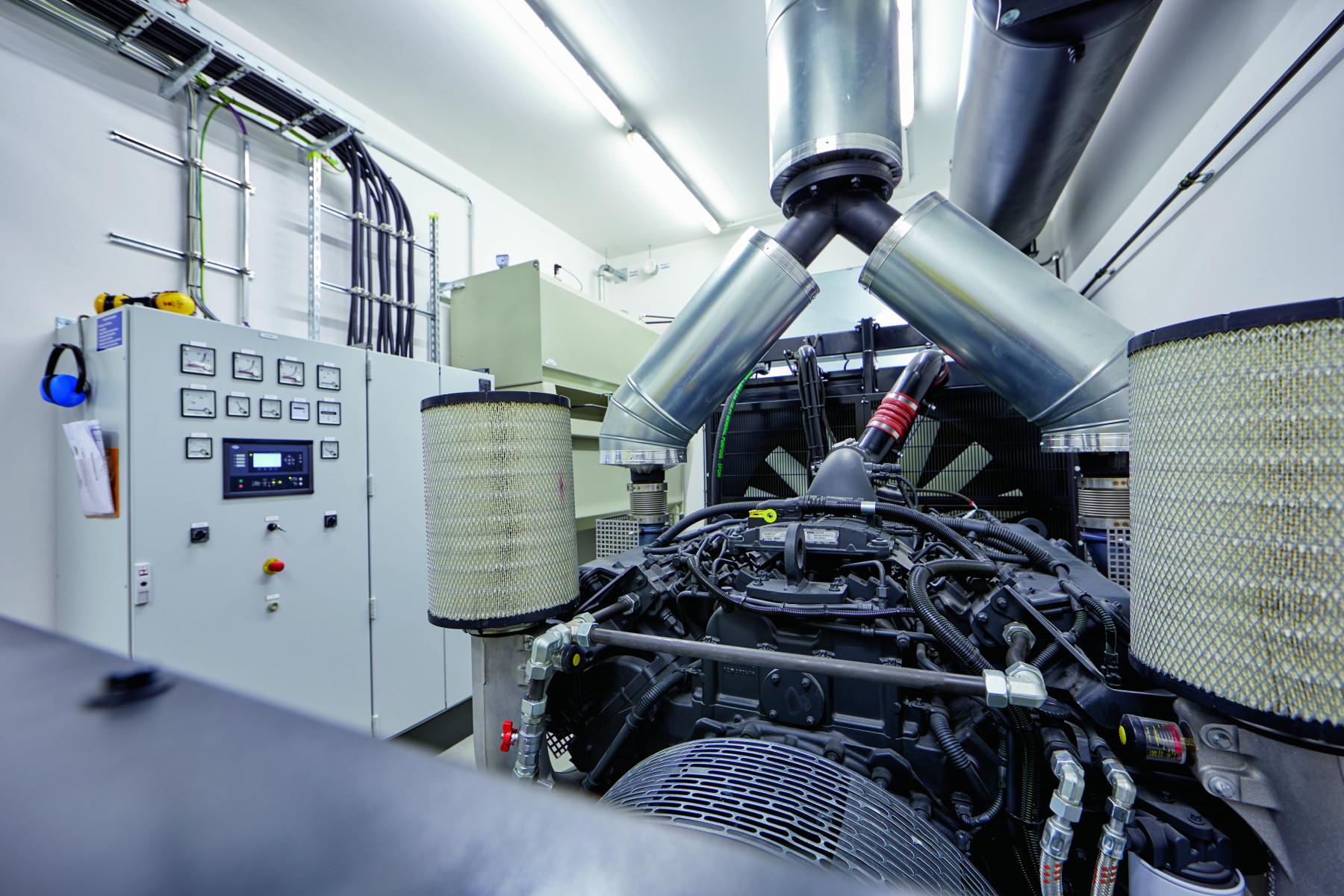 Netzersatzanlage, Diesel-Notstromaggregat