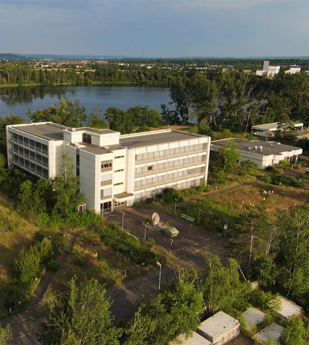 Ansicht Verwaltungsgebäude im Juli 2021